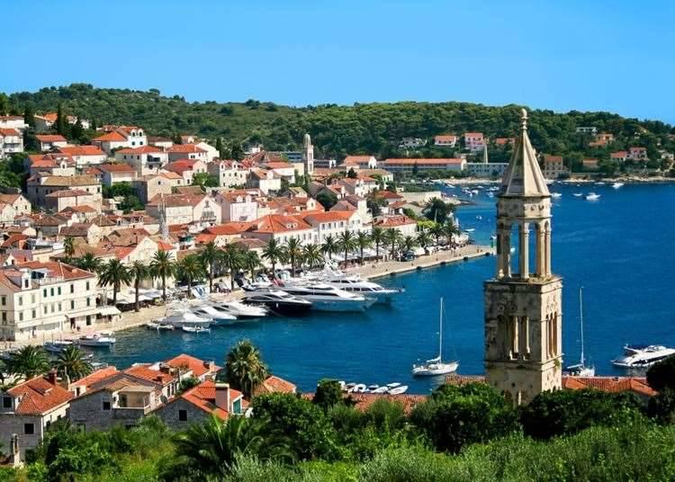 Хвар, Хорватия, Адриатическое море