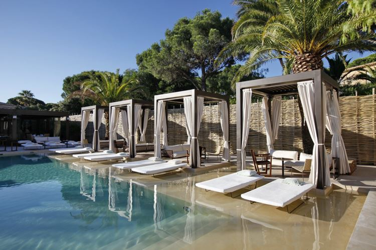бассейн отеля Muse Saint tropez, Лазурный берег