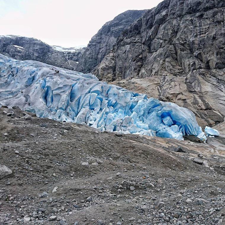 Достопримечательности Норвегии: Ледник Юстедальсбреен