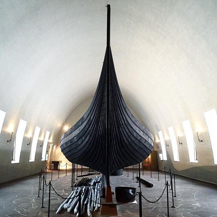 Достопримечательности Норвегии: Музей кораблей викингов