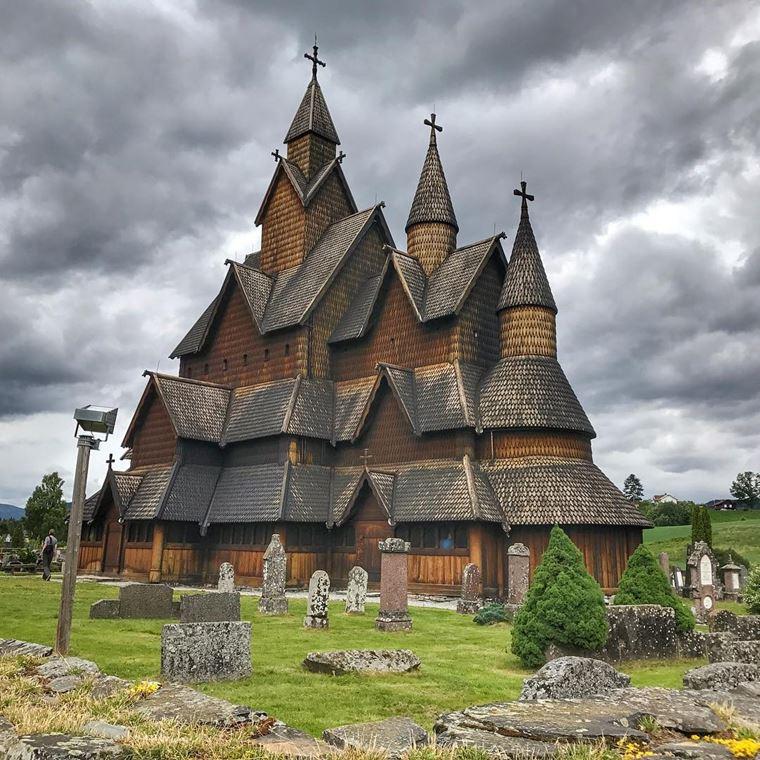 Достопримечательности Норвегии: Деревянная церковь Хеддал