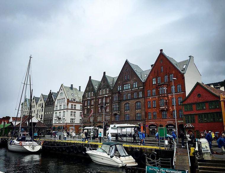Достопримечательности Норвегии: Берген