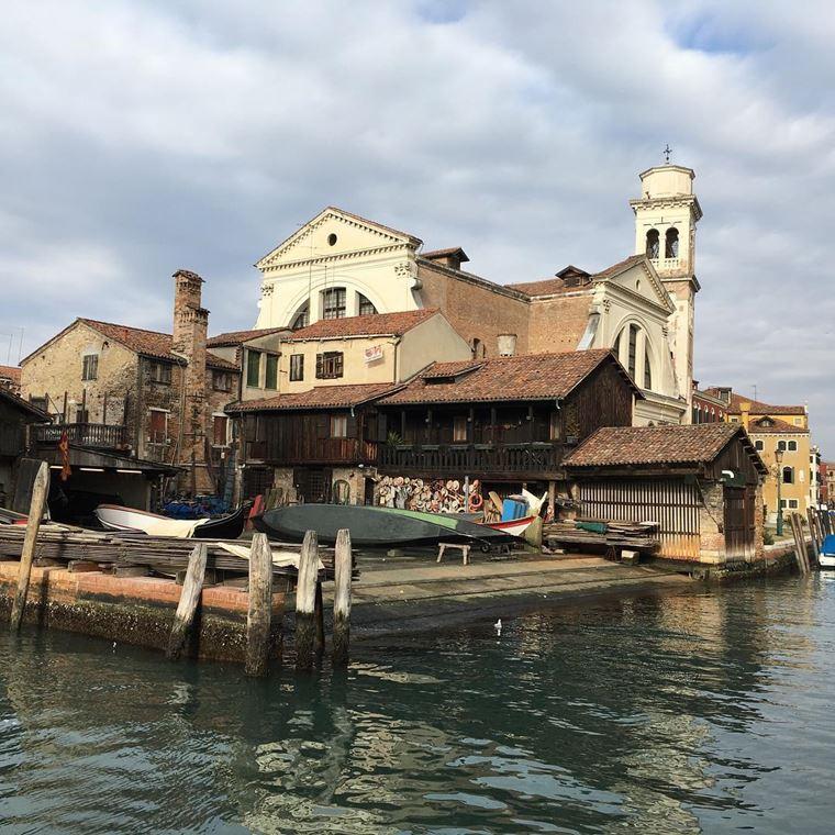 Достопримечательности Венеции: Верфь Cан-Тровазо