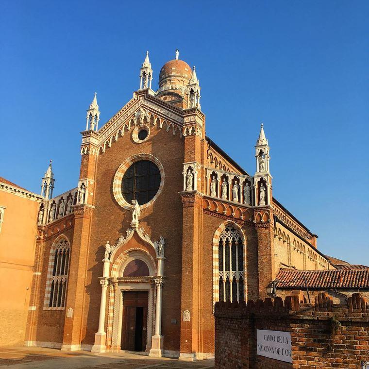 Достопримечательности Венеции: Церковь Мадонна-дель-Орто
