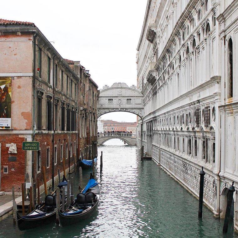 Достопримечательности Венеции: Мост вздохов
