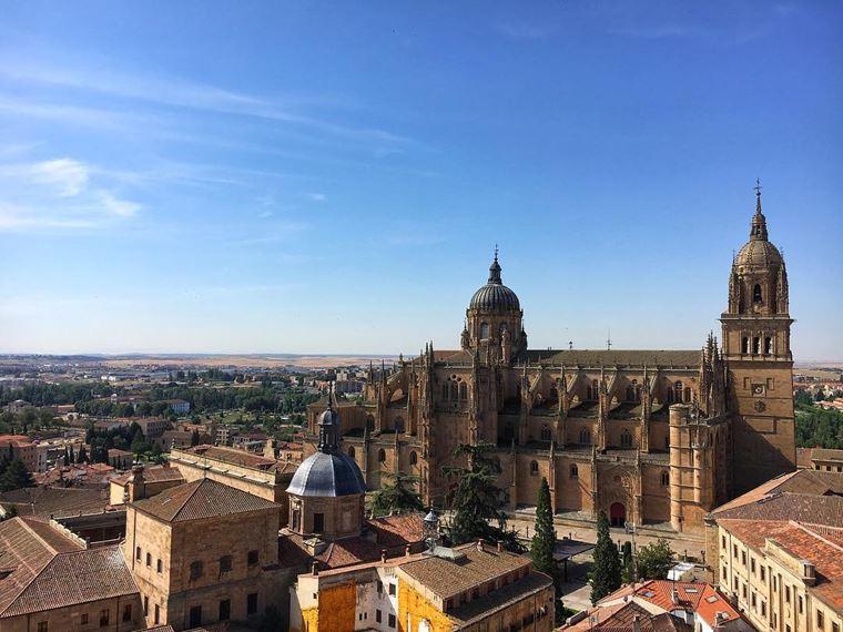 Интересные города Испании: Саламанка