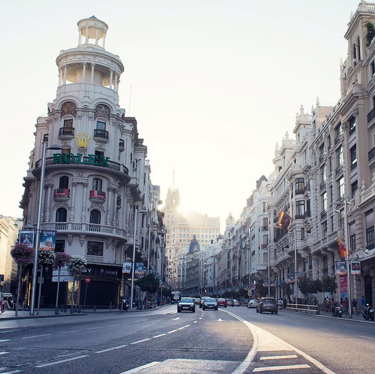 Интересные города Испании: Мадрид