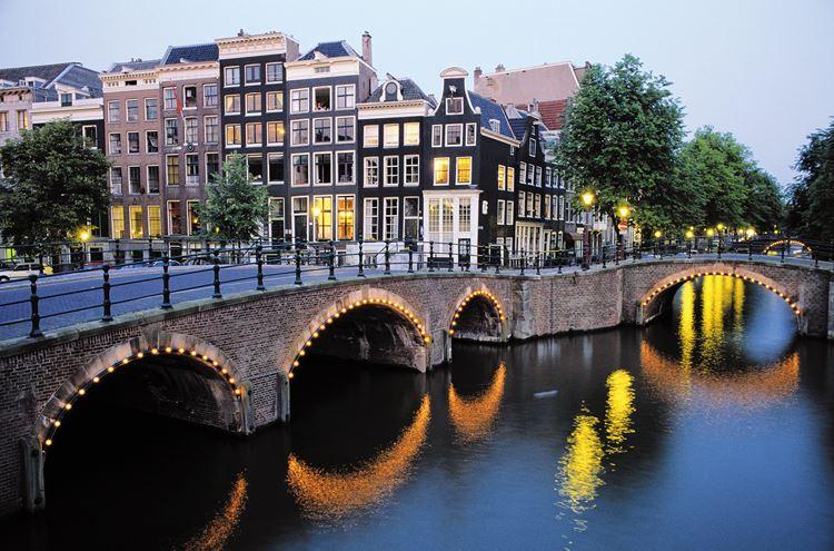 каналы амстердама 1