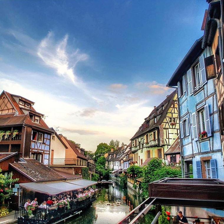Красивые деревни и маленькие города Европы: Кольмар