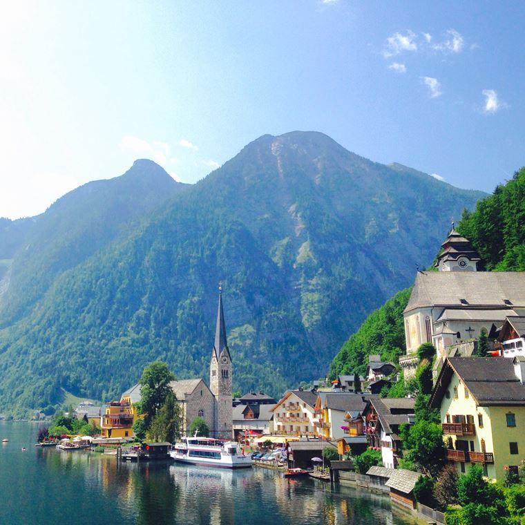 Красивые деревни и маленькие города Европы: Гальштат