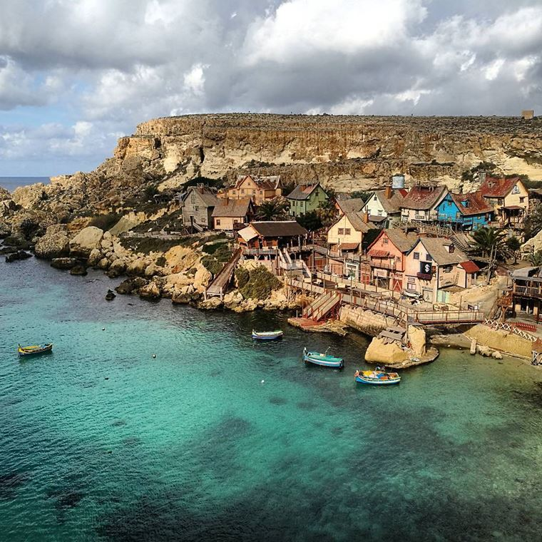 Красивые деревни и маленькие города Европы: Деревня Попая