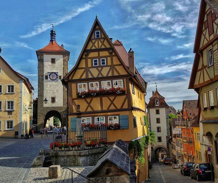 Красивые деревни и маленькие города Европы: Ротенбург-об-дер-Таубер