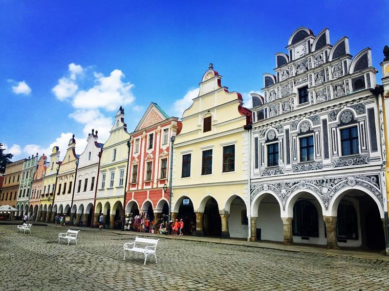 Красивые деревни и маленькие города Европы: Тельч