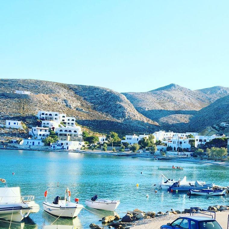 Красивые деревни и маленькие города Европы: остров Фолегандрос