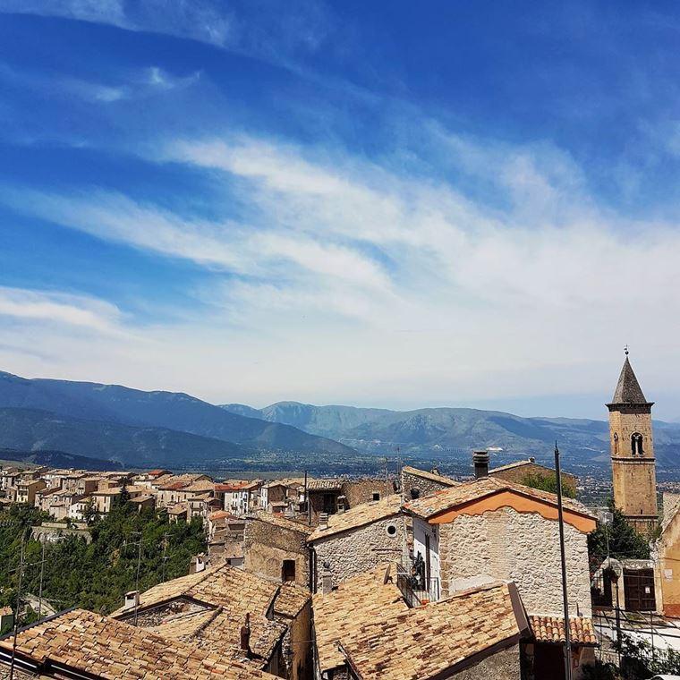 Красивые деревни и маленькие города Италии: Пачентро