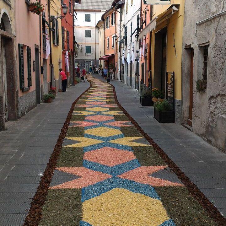 Красивые деревни и маленькие города Италии: Бруньято