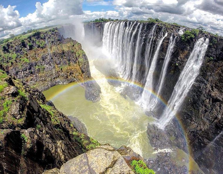 Самые красивые водопады мира: Виктория (Зимбабве)