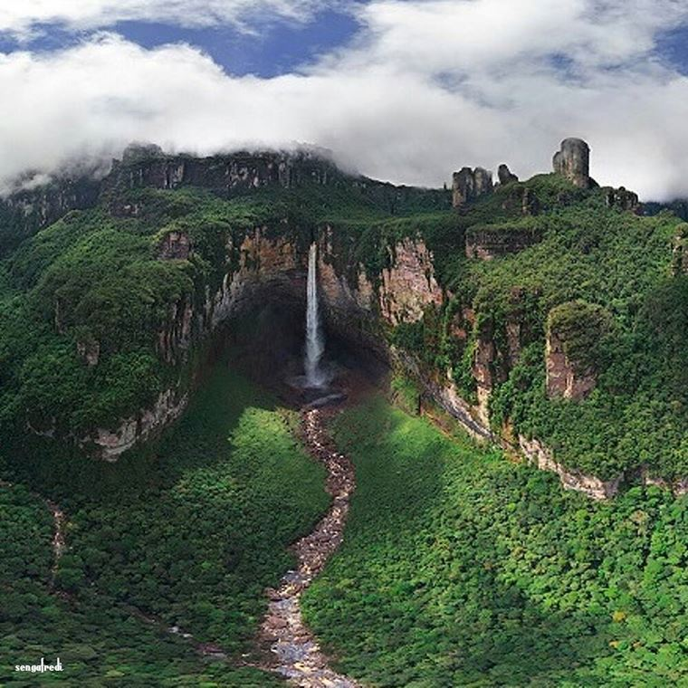 Самые красивые водопады мира: Анхель (Венесуэла)