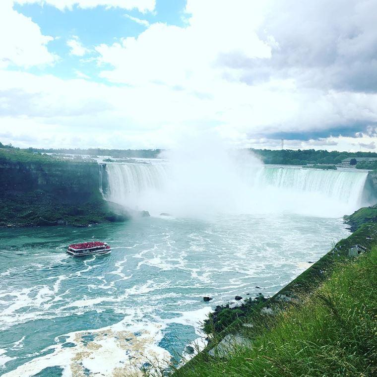Самые красивые водопады мира: Ниагарский водопад (США и Канада)