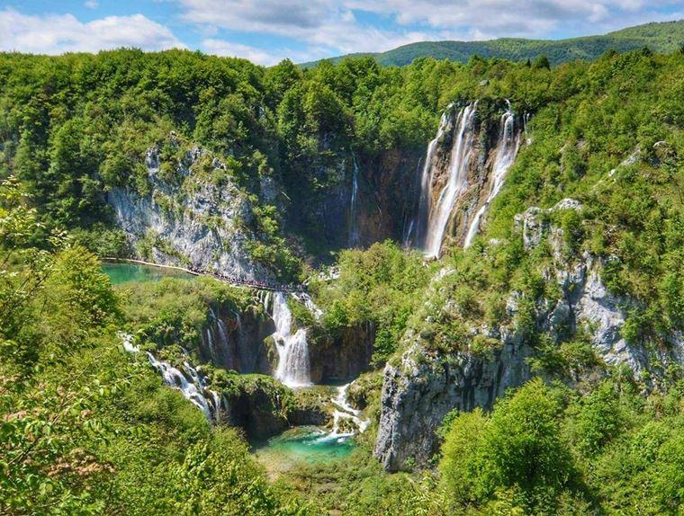 Самые красивые водопады мира: Плитвицкие водопады (Хорватия)