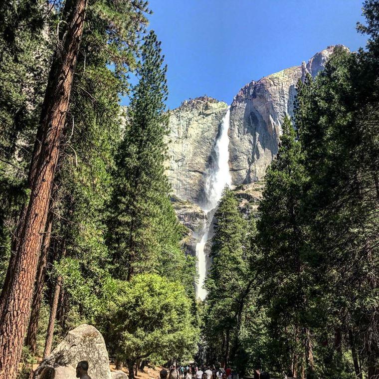Самые красивые водопады мира: Йосемити (США)