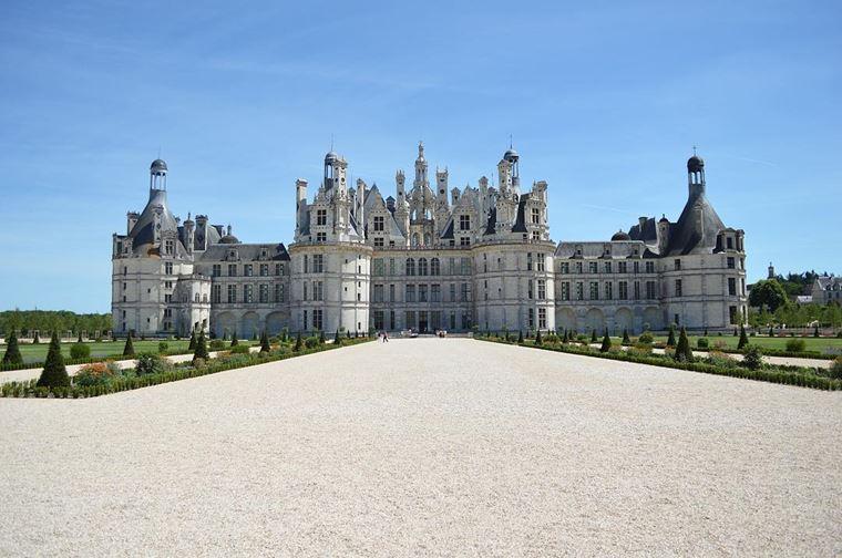 Красивые замки и дворцы мира: Замок Шамбор