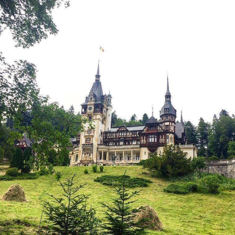 Красивые замки и дворцы мира: Замок Пелеш