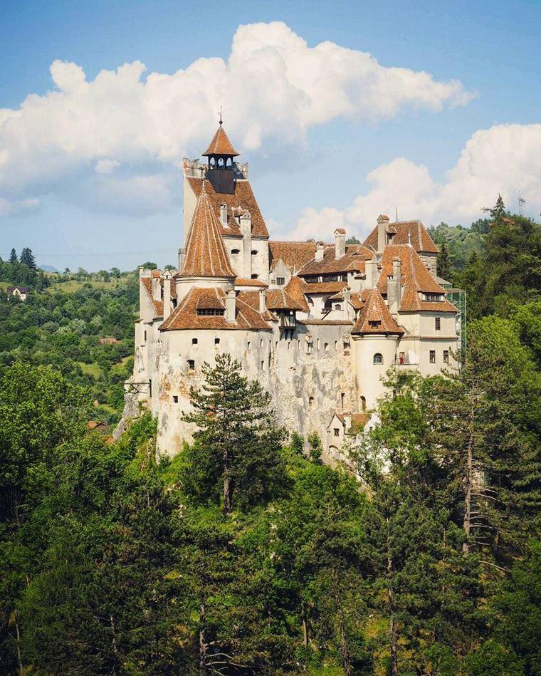 Красивые замки и дворцы мира: Замок Бран