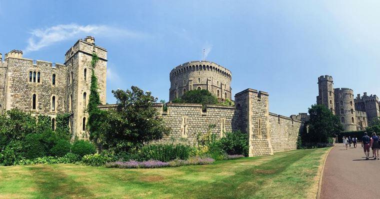 Красивые замки и дворцы мира: Виндзорский замок