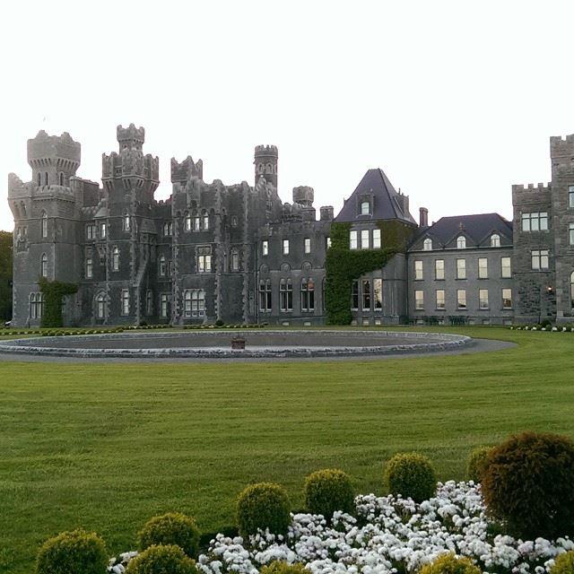 Красивые замки и дворцы мира: Замок Эшфорд