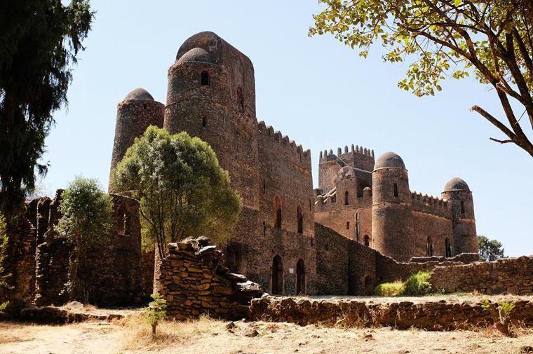 Красивые замки и дворцы мира: Замок Фасилидес