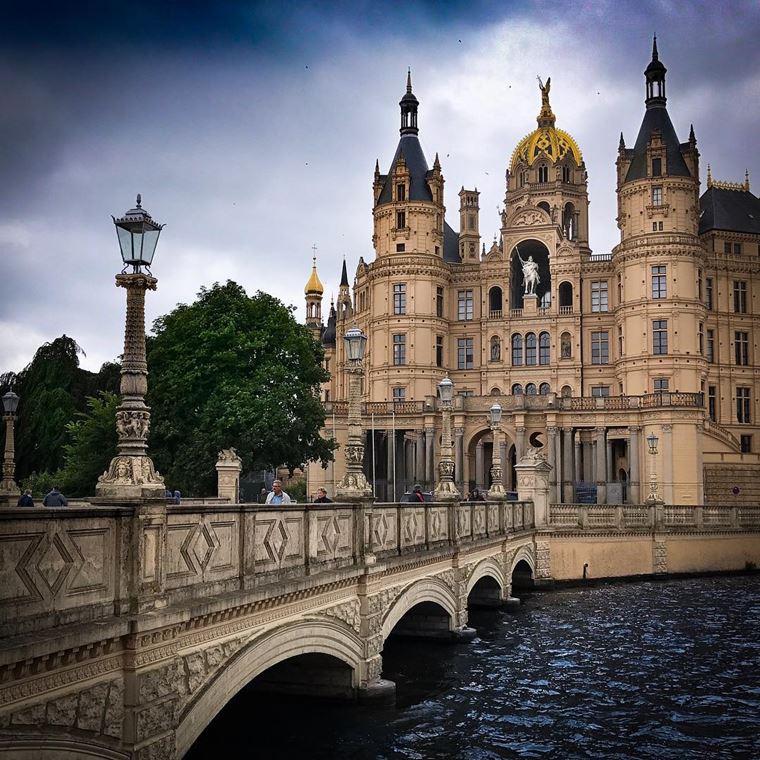 Красивые замки и дворцы мира: Замок Шверин