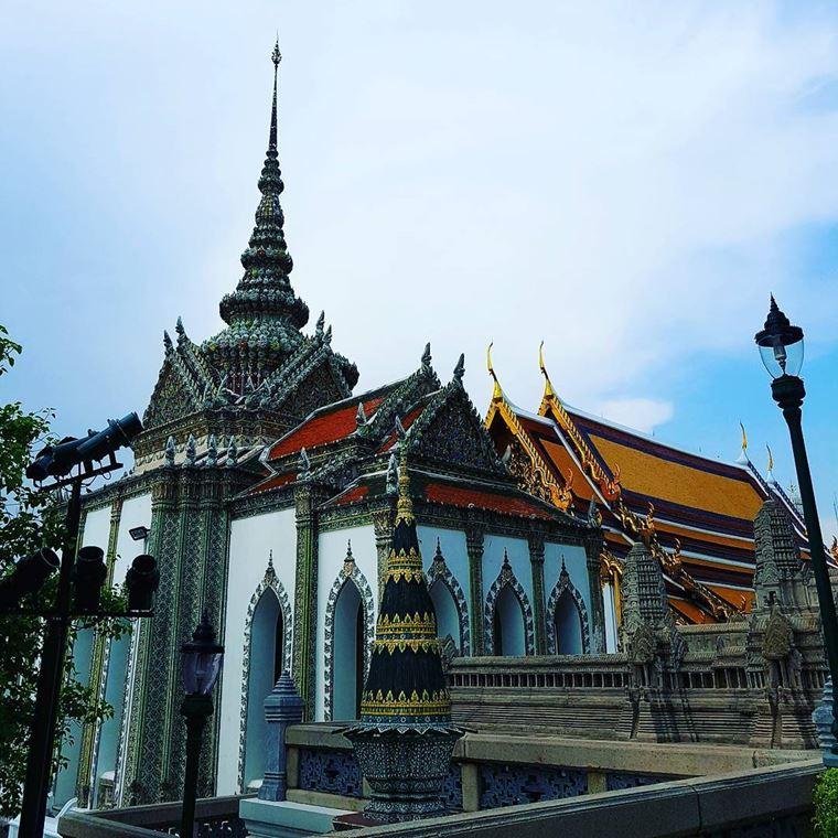 Красивые замки и дворцы мира: Большой дворец Таиланда