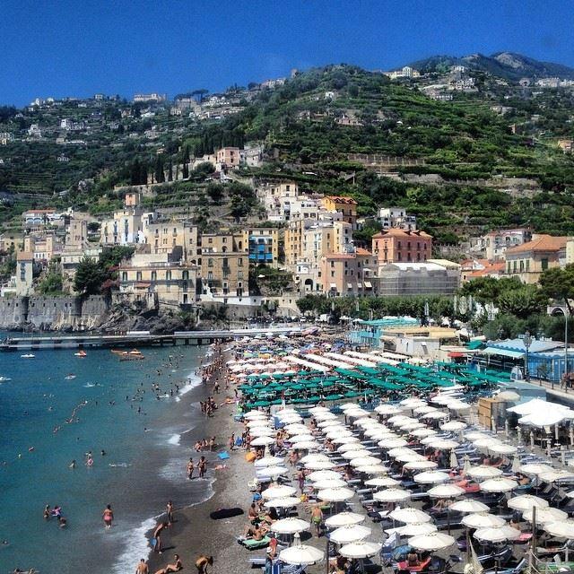 Лучшие пляжи Амальфитанского побережья Италии - Пляж Минори