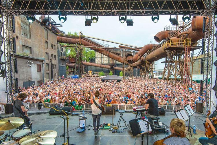Музыкальный фестиваль Colours of Ostrava (Острава, Чехия)