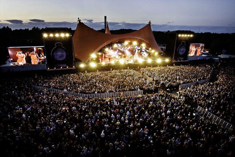 Фестиваль в Роскилле (Дания)
