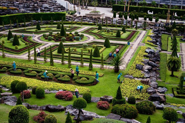 Самые красивые парки и сады мира: парк Нонг Нуч в Таиланде