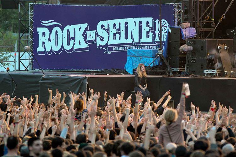 Музыкальный фестиваль «Рок на Сене» (Париж, Франция)