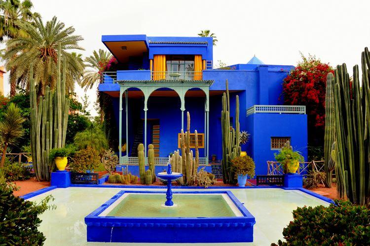 Самые красивые сады и парки в мире: сад Мажорель в Марокко