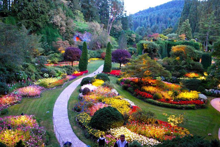 Самые красивые парки и сады в мире: сады Бутчарт в Канаде