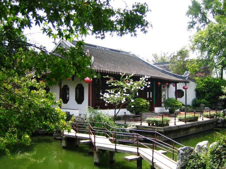 Самые красивые сады и парки мира: сады Сучжоу в Китае
