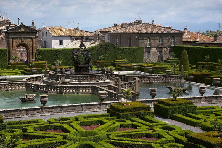 Самые красивые парки и сады мира: сады виллы Ланте в Италии