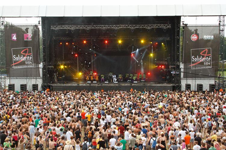 Музыкальный фестиваль Solidays (Париж, Франция)