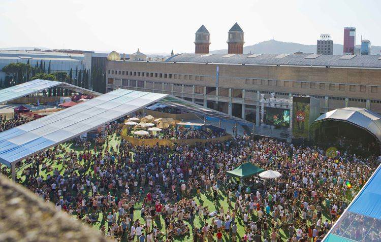 Музыкальный фестиваль Sonar в Барселоне