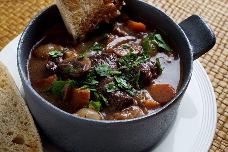 10 блюд французской кухни - Бёф бургиньон