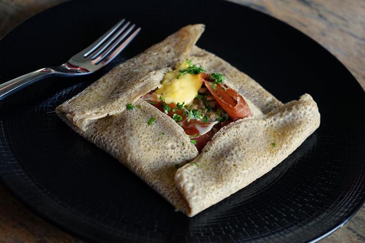 10 блюд французской кухни - Бретонские блинчики с начинкой