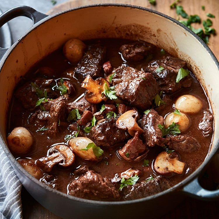 Блюда французской кухни, которые обожают французы - Бёф бургиньон