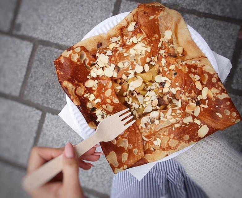 Блюда французской кухни, которые обожают французы - Бретонские блинчики с начинкой