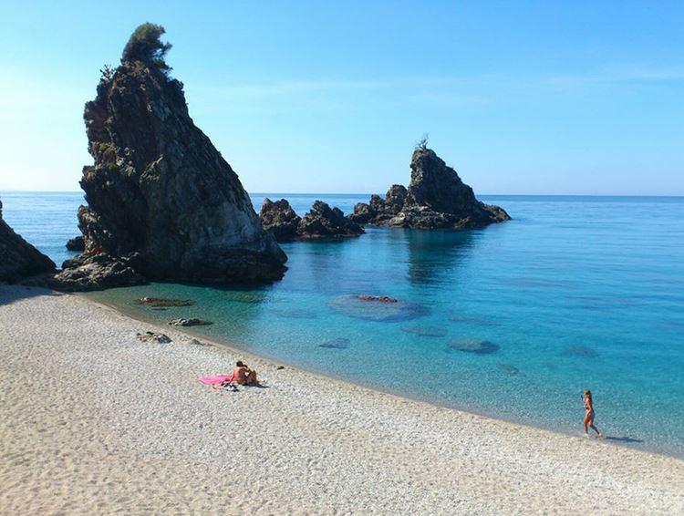 Лучшие пляжи Калабрии, Италия - Тоннара ди Пальми