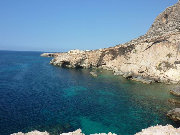 Мальта, пляж Гар Лапси